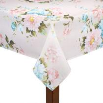 Julia Pink Floral Tablecloth