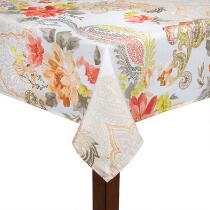 Meredith Floral Paisley Tablecloth
