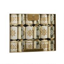 Premium Christmas Crackers, Set of 6