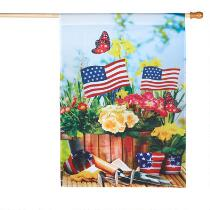 Stars and Stripes Garden Yard Flag