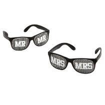 """Mr."" and ""Mrs."" Sunglasses Set"