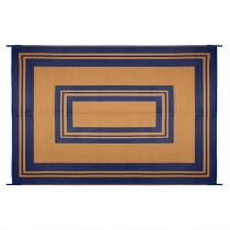 Border Reversible All-Weather Patio Mat