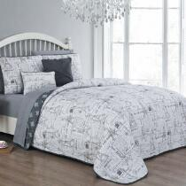 Avondale Manor Belle Reversible Comforter Set, 9-Piece