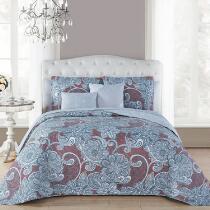 Avondale Manor Landra Quilted Reversible Comforter Set, 9-Piece
