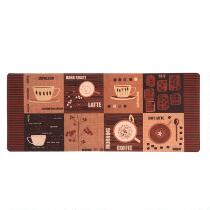 "20""x48"" Types of Coffee Cushioned Floor Mat"