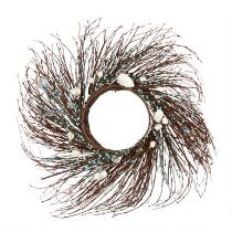 "21"" Seashells Twig Wreath"