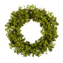 """28"""" Mixed Greenery Artificial Twig Wreath"""