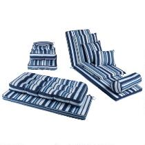 Coastal Living Seascapes™ Striped All-Weather Cushions