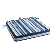 Coastal Living Seascapes™ Striped Indoor/Outdoor Seat Pad