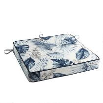 Coastal Living Seascapes™ Palm Leaves Indoor/Outdoor Seat Pad
