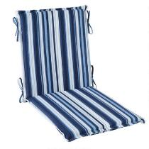 Coastal Living Seascapes™ Stripe Indoor/Outdoor Hinged Chair Pad
