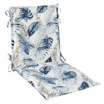 Coastal Living Seascapes™ Palm Leaves Indoor/Outdoor Hinged Chair Pad