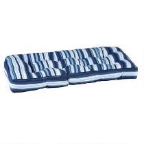 Coastal Living® Seascapes Stripe Indoor/Outdoor Double U Bench Seat Pad