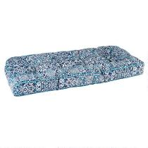 Coastal Living® Seascapes Medallion Indoor/Outdoor Double U Bench Seat Pad