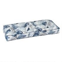 Coastal Living Seascapes™ Palm Leaves Indoor/Outdoor Double U Bench Seat Pad