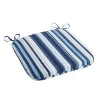 Coastal Living Seascapes™ Stripe Indoor/Outdoor Square Bistro Seat Pad