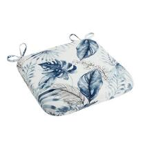 Coastal Living Seascapes™ Palm Leaves Indoor/Outdoor Square Bistro Seat Pad