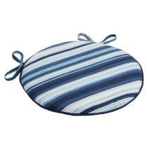 Coastal Living Seascapes™ Stripe Indoor/Outdoor Round Bistro Seat Pad