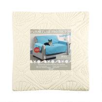Coastal Solid Sofa Waterproof Furniture Cover