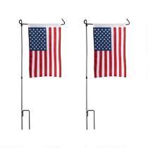 American Flag Yard Stake, Set of 2
