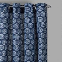 Coastal Living Seascapes™ Circles Grommet Indoor/Outdoor Window Curtains, Set of 2