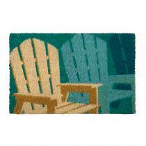 Beach Chairs Coir Door Mat