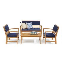 Coastal Living Seascapes™ Chatham Outdoor Patio Set, 4-Piece