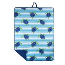 Oversized Turtles Beach Blanket and Tote