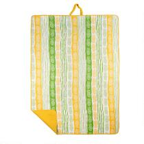 Oversized Pineapple Beach Blanket and Tote