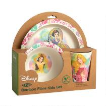 Disney® Princess Bamboo Children's Dinnerware Set, 3-Piece