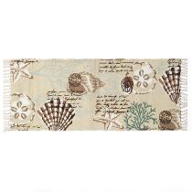 Coastal Brown Shells Rug