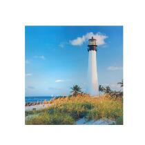 "20"" Lighthouse Indoor/Outdoor Canvas Wall Art"