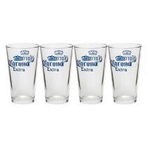 Corona® Extra Pint Glasses, Set of 4