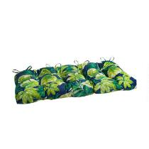 Palm Leaves Indoor/Outdoor Double-U Seat Pad