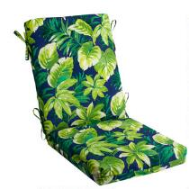 Palm Leaves Indoor/Outdoor Hinged Chair Pad