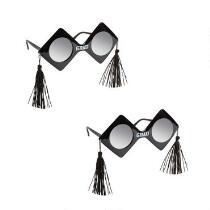 """Grad"" Tassels Sun Glasses, Set of 2"