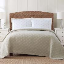 Coastal Living Seascapes™ Tan Diamond Quilt
