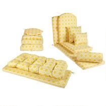 Yellow Cane Indoor/Outdoor Cushions