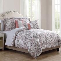 Gloria Scroll Comforter Set, 10-Piece