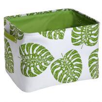 Coastal Living Seascapes™ Palm Leaves Rectangular Storage Basket