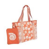 Seashells Jumbo Beach Tote with Swimsuit Pouch
