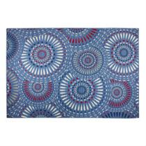Blue Medallions All-Weather Area Rug