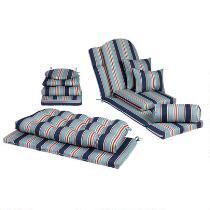 Alfresco™ Blue Striped Indoor/Outdoor Cushions