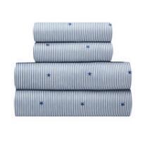 Blue Stripes/Stars Nautical Sheet Set