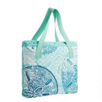 Oversized Blue Shells Beach Blanket and Tote