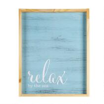 """16""""x20"""" """"Relax By The Sea"""" Wall Decor"""