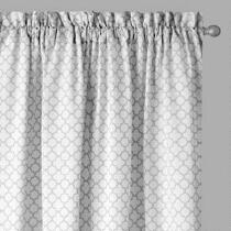 Traditions by Waverly® Quatrefoil Framework Window Curtains, Set of 2