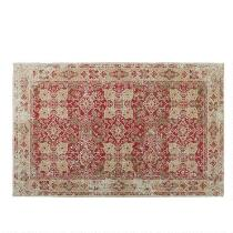 Red Venezia Tapestry All-Weather Rug