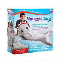 As Seen on TV Gray Fin Shark Snuggie® Tails™