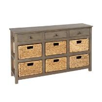 Summit 3-Drawer/6-Basket Cabinet